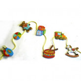 Guirlande porte-photos jouets