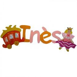 Prénom décoratif Princesse