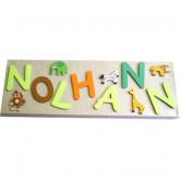 Tableau prénom personnalisé-tableau enfant