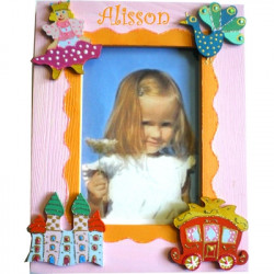 Cadre photo personnalisé princesse