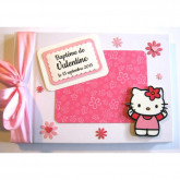 Livre d'or de baptême Hello Kitty